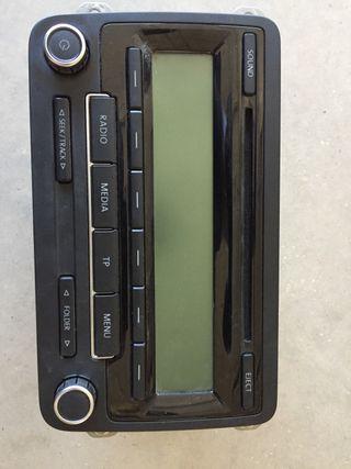 Radio cd de golf 6