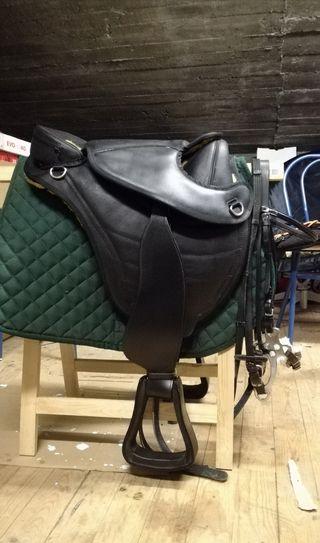 silla equitacion sin armazón
