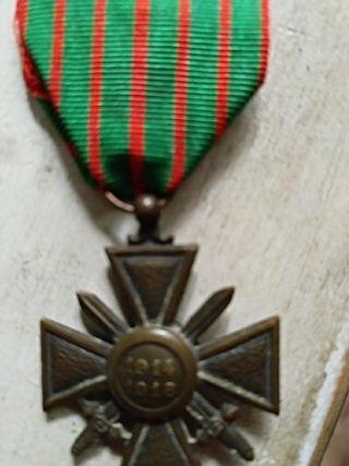 medalla francesa 1914