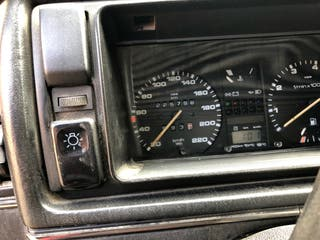 Volkswagen Golf 1987 techo solar