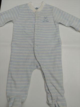 pijama bebé 6-9 meses invierno tipo pirineo