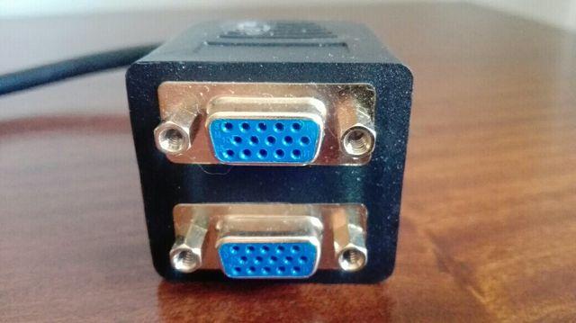 Cable PC 2 x Vga