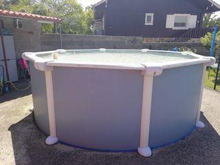 estructura de piscina