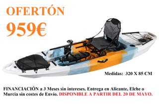 Kayak a Pedales por menos de 1000€ (Nuevo)