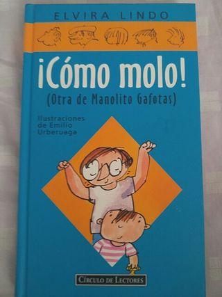 Libro Manolito gafotas. cómo molo.