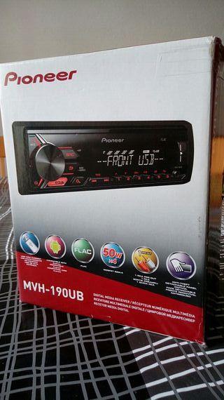 Radio usb- Pioneer MVH-190UB