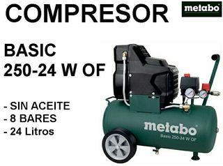 Compresor Metabo portatil