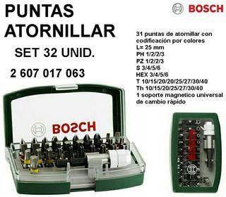Puntas atornillador de Bosch