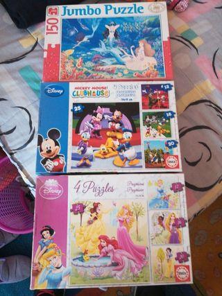 puzzles, todo el lote 5€