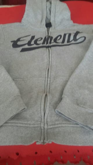 Sudadera Element Talla 12- 8 euros