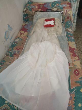 vestido de comunión de niña 9 años