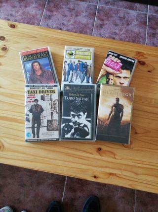 Lote Películas VHS