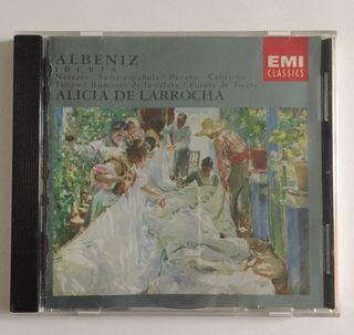 Iberia, Navarra Albeniz CD N°2, Alicia de Larrocha