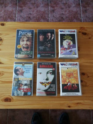 Lote Películas VHS Inglés