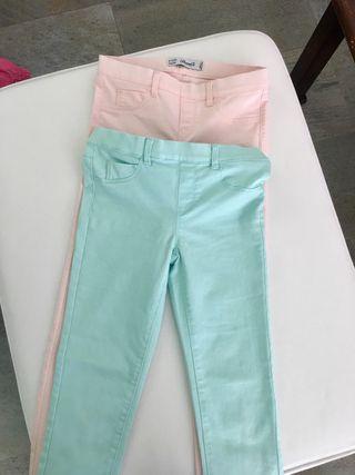 Pantalones niña NUEVOS 8-9 años