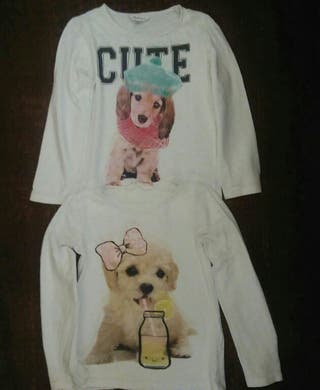 camiseta niña 5 años lote