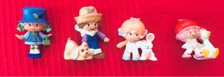 Muñecas Tarta de Fresa pvc
