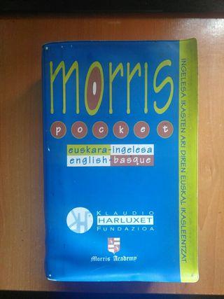 Morris Pocket Dicionario Ingles-Euskera