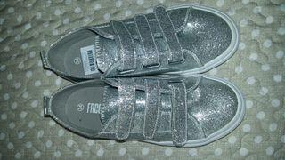 zapatillas niña a estrenar