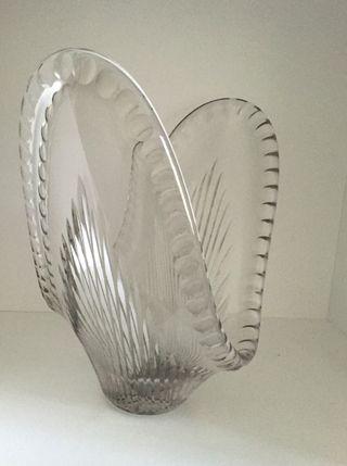 Vase ou coupe en cristal Vintage années 30-40