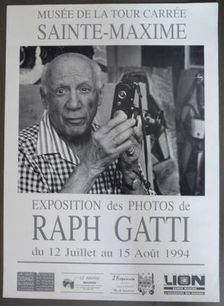 "Affiche ""collector"" Photo de Raph Gatti - Picasso"