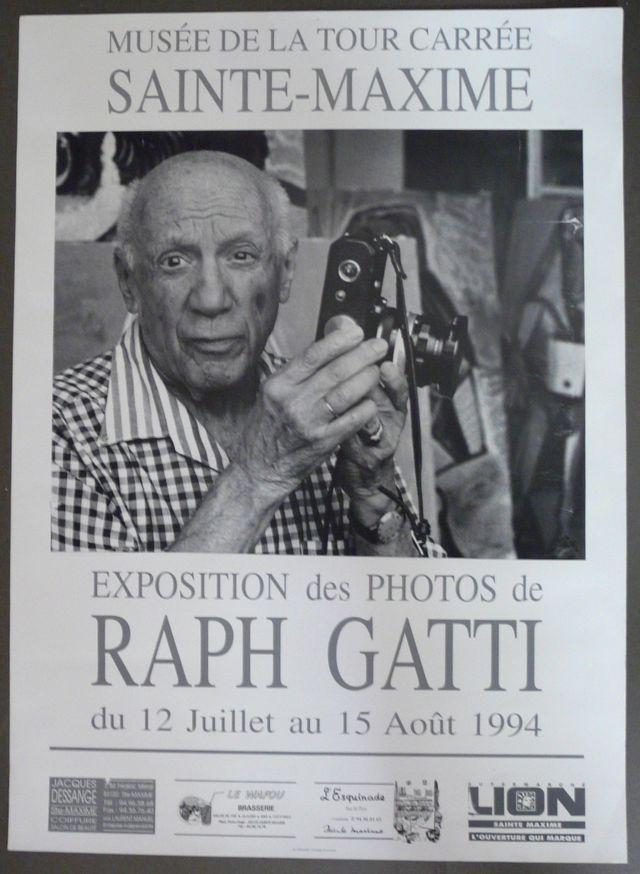"""Affiche """"collector"""" Photo de Raph Gatti - Picasso"""