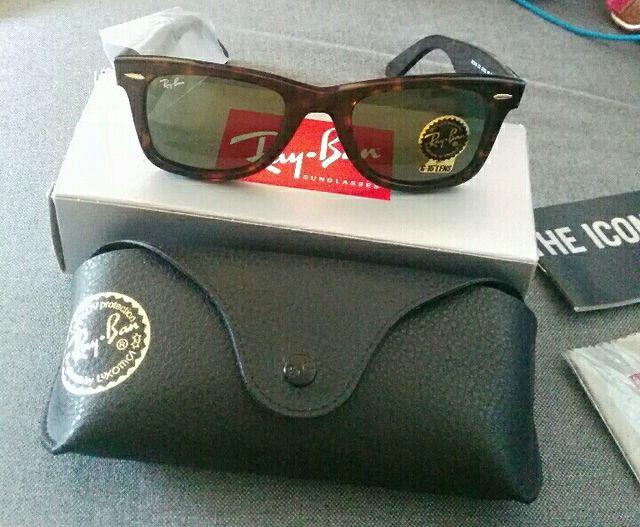 d46a0b5d6236f Gafas de sol ray-ban wayfarer OFERTA de segunda mano por 90 € en ...