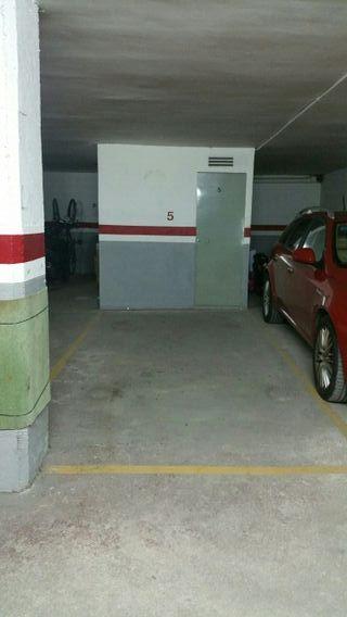 parking con trastero