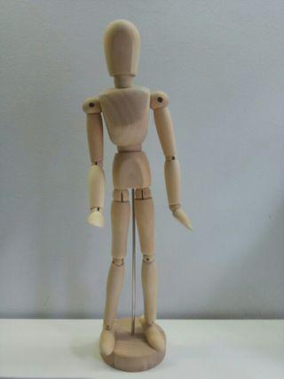 Figura articulado - maniquí dibujo