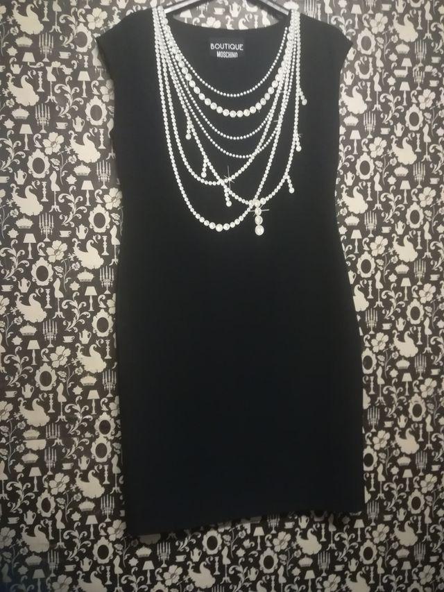 vestido noche Moschino