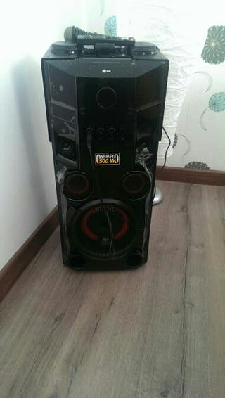 Altavoz bluetooth LG 500 watts