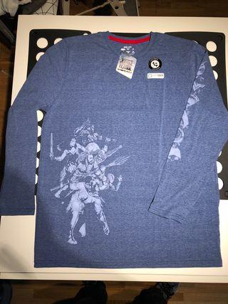 Camiseta manga larga Justice League