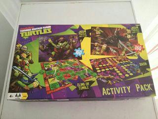 juego activity pack tortugas ninja