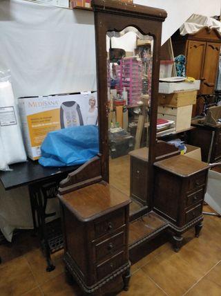 muebles vintage dormitorio