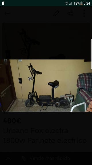 Urban Fox electra 1800w cambio x S9+