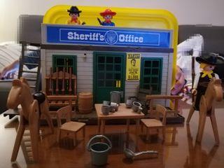 Oficina sherif oeste playmobil