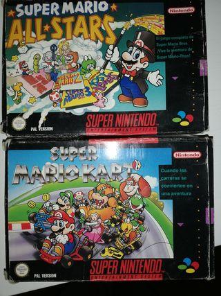 Juegos Super Nintendo