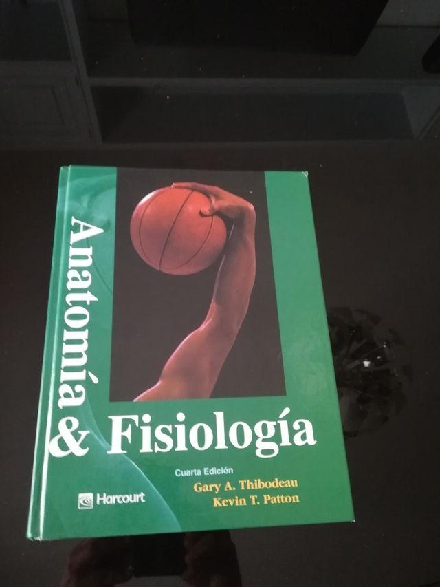Libro de anatomía y fisiología. Gary. A. Thibodeau de segunda mano ...