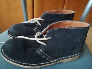 botas de ante de niño numero 35