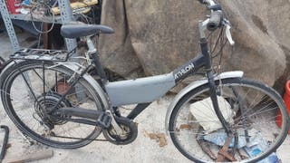 Bicicleta paseo electrica