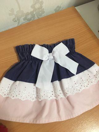Minifalda niña