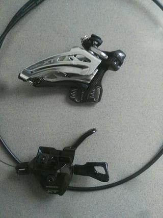 desviador y pulsador XT deore