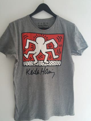 camiseta Keith Haring talla 38