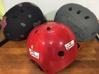 3 casco skate