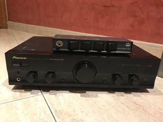 Amplificador audio con 6 altavoces