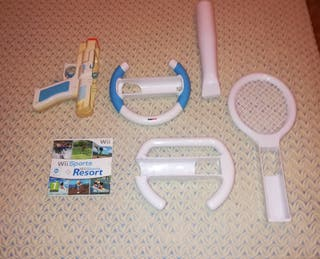 wii sports resort y accesorios wii