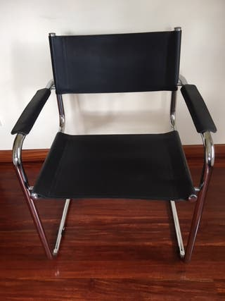 3 sillas multiespacio cuero