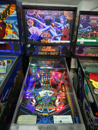 maquina pinball jack bot williams