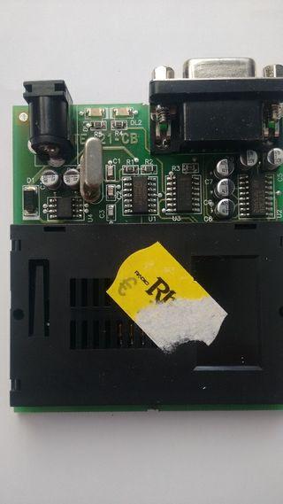 Programador de tarjetas TE21 CB