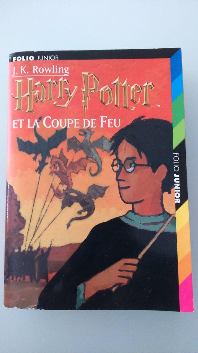 Harry Potter Et La Coupe De Feu Folio Jr De Segunda Mano
